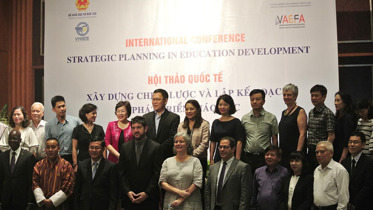 Hội thảo tham vấn Xây dựng chiến lược giáo dục 2021-2030 - 04/07/2019 – Khách sạn Melia Hà Nội
