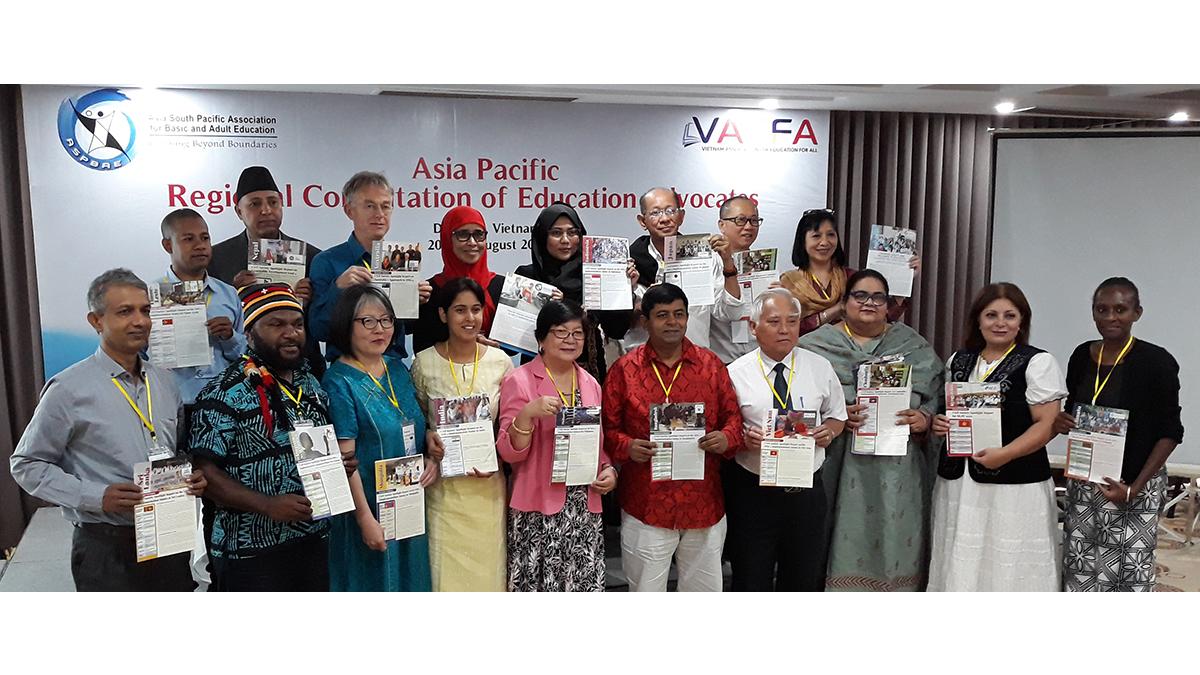 Họp mặt thường niên các Liên minh Giáo dục Khu vực Châu Á Thái Bình  dương - Đà Nẵng 8/2019.
