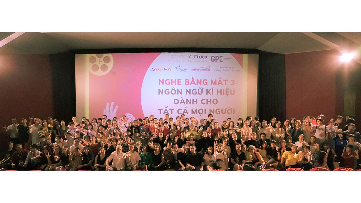 Sự kiện Nghe Bằng Mắt 3 – Ngôn ngữ ký hiệu dành cho tất cả mọi người - 25/09/2020